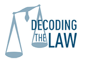 Decoding the Law logo