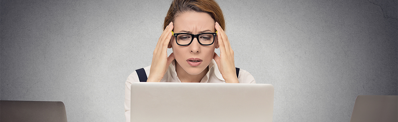 Stressed woman discovers she's been scammed