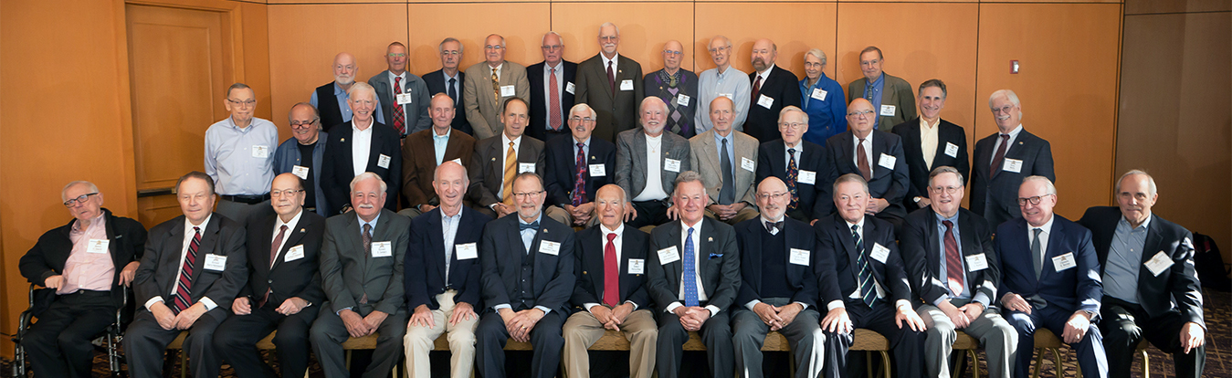 Members of WSBA's Class of 1969 on their 50th Anniversary