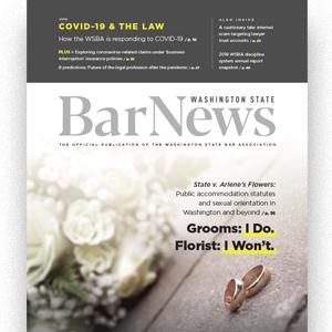Cover of Bar News June 2020